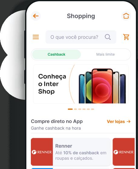 Cashback no Shopping Inter